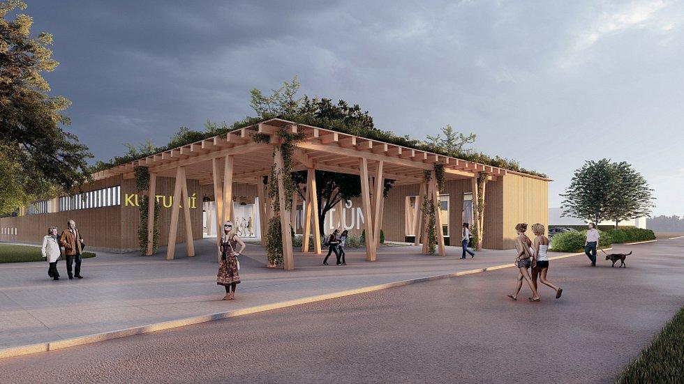 Kulturní dům v Rohatci.