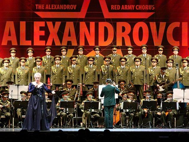 Při svém historicky prvním vánočním turné se v Brně představil slavný ruský soubor Alexandrovci.