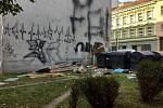Obyvatelé brněnské Vranovské ulice si stěžují na poměry v bytovém domě 22 a 26.