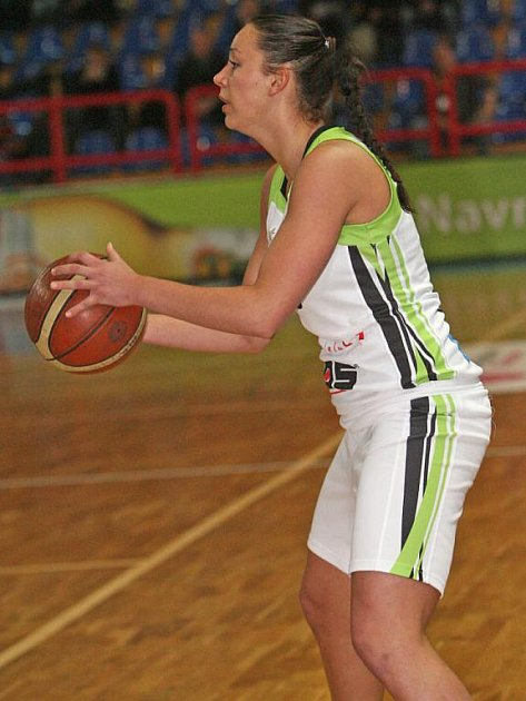 Basketbalista Frisco Brno Kašpárková.