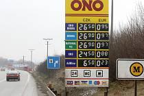 Čerpací stanice Tank Ono- ilustrační foto