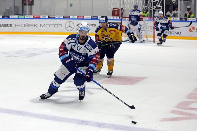 Hokej Kometa Brno - PSG Zlín