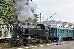 Parní lokomotiva 433,001 bude dočasně ve Veselí nad Moravou.