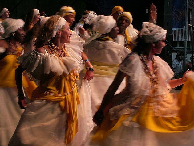 V sobotu v Lednici vystoupí také bubeníci a tanečníci Afoxé Loni z brazilského státu Bahia.