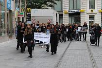 Pochod za hospodářská zvířata.
