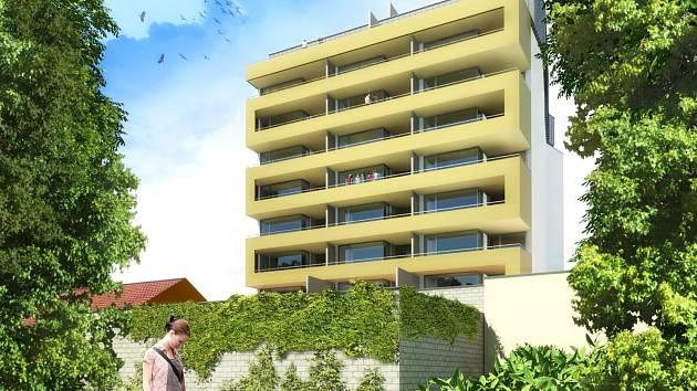 Návrhy nového územního plánu počítají s vyššími budovami kolem ulic Gajdošova a Otakara Ševčíka, které odcloní hluk.