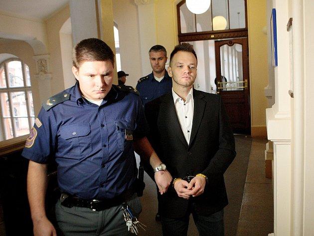 Martin Fuchsa u soudu.
