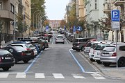 Rezidentní parkování v Brně. Ilustrační foto.