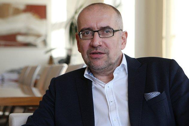 Rektor brněnské Masarykovy univerzity Mikuláš Bek.