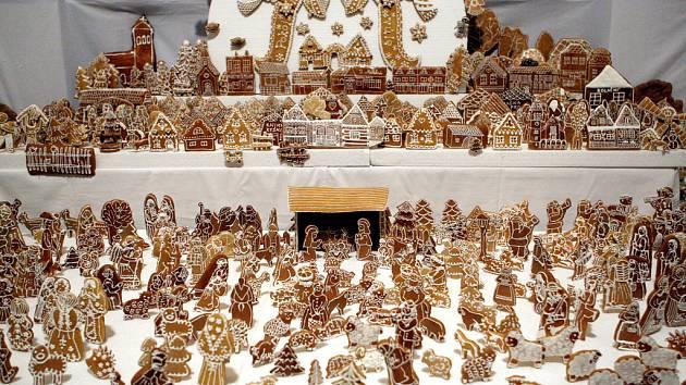 Perníkový betlém, který je vystavený v kostele svatého Cyrila a Metoděje v brněnských Židenicích, byl před dvěma lety zapsaný do české Guinnessovy knihy rekordů.