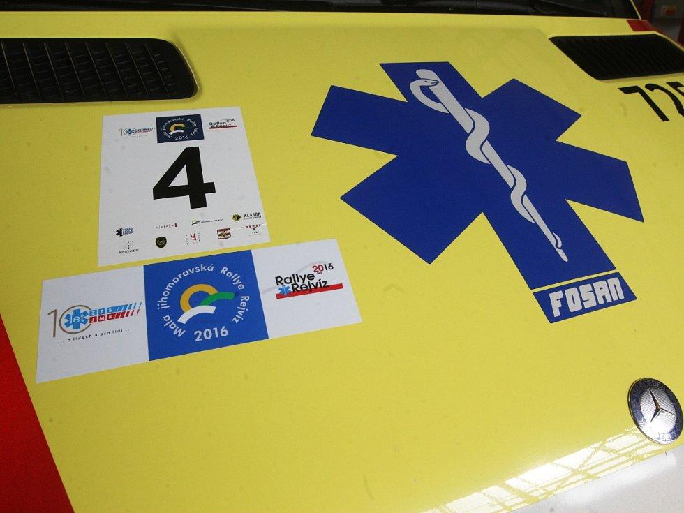 Malá jihomoravská Rallye Rejvíz. V Brně soutěžili záchranáři.