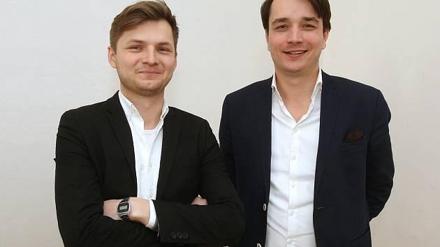 Architekti Michal Krištof (vlevo) a Ondřej Chybík.