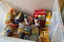 Charita chystá sbírku potravin.