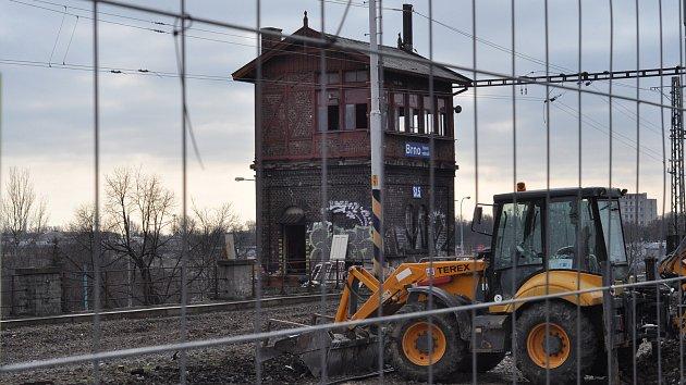 Historické stavědla na brněnském hlavním nádraží. Stavědlo 5.