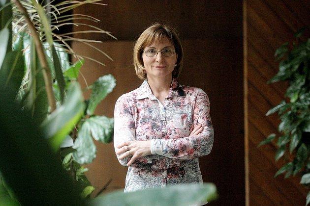 Předsedkyně strany Zelených a starostka Nového Lískovce Jana Drápalová.