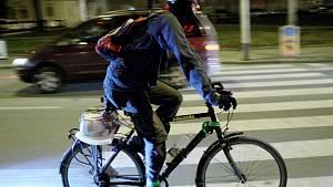 Cyklisté v Brně.
