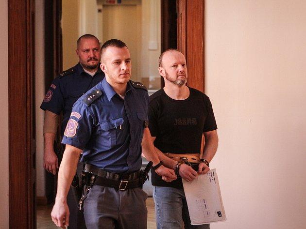 Roman Dolíhal u Krajského soudu v Brně.