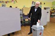 V sobotu byl volit také jihomoravský hejtman Bohumil Šimek.