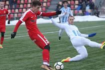 Brněnští fotbalisté pokračují ve vítězné přípravě. Zdolali Nitru 2:0.