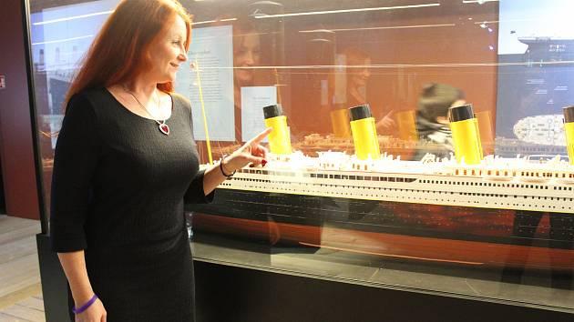 Česká kurátorka unikátní výstavy Titanic.