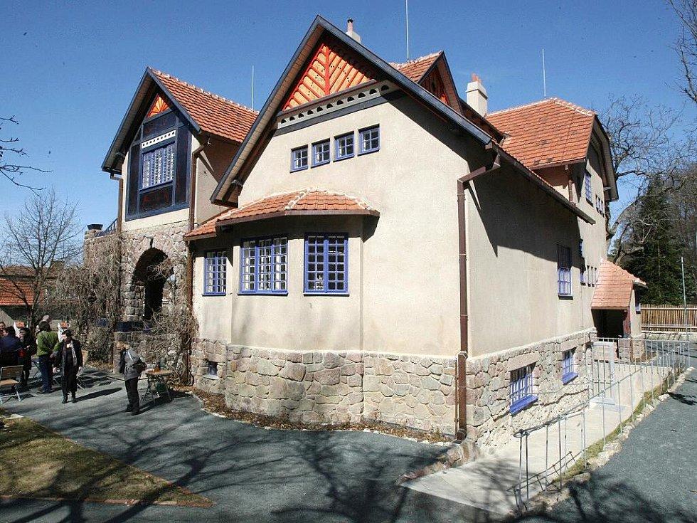 Unikátní Jurkovičova vila v brněnských Žabovřeskách.