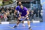 Domácí reprezentační výběr squashistů odcestuje v neděli do Francie na mistrovství světa týmů. Na snímku Martin Švec.