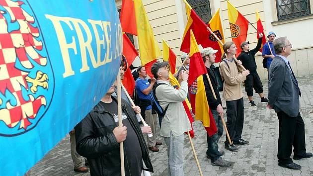 V sobotu prošel středem Brna Výroční pochod Moravanů.