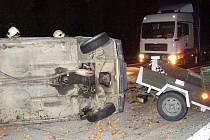 Noční nehoda na D2