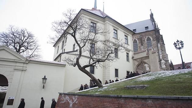 Okolí katderály na Petrově v prosinci otevřeli po několikaměsíčních opravách.