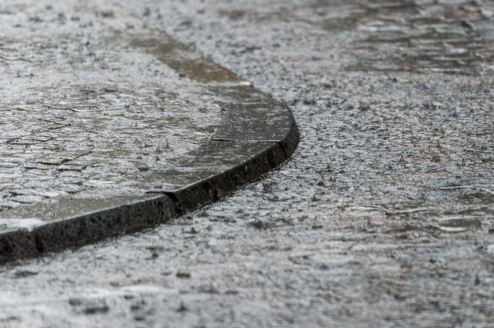 Déšť, ilustrační foto