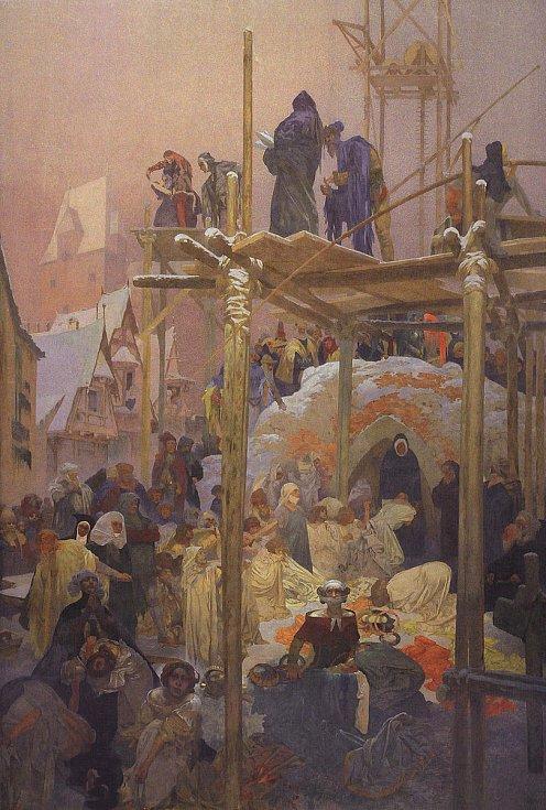 Jan Milíč z Kroměříže, Alfons Mucha.