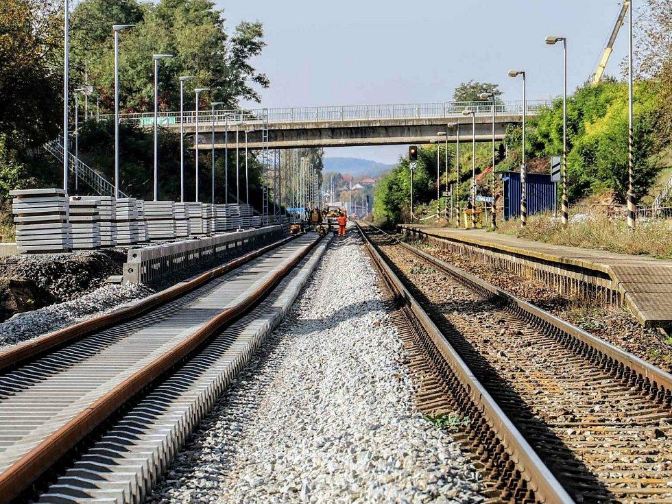 Na trati mezi Brnem a Střelicemi vznikají dvě nové zastávky, Brno-Starý Lískovec a Ostopovice.
