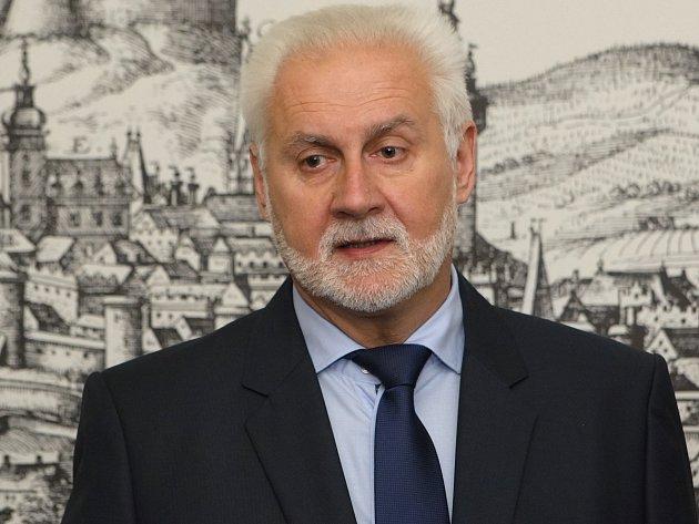 Jihomoravský hejtman Bohumil Šimek.