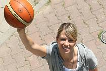 Basketbalistka Ivana Večeřová.
