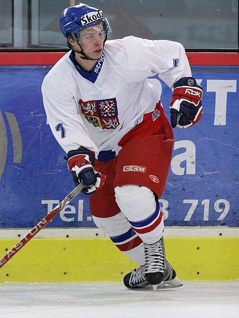 Hokejista Petr Šenkeřík.