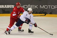 Kometa porazila Spartak Moskva, účastníka KHL, 4:2.