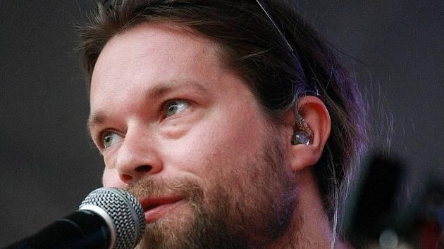 Frontman kapely Kryštof Richard Krajčo.