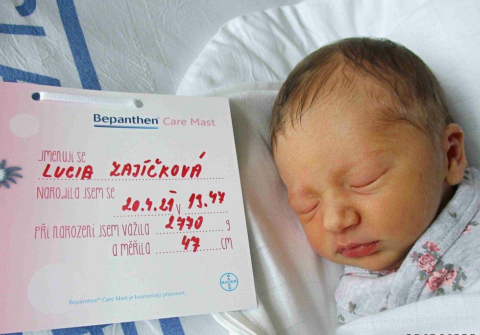 Lucia Zajíčková, 20. 4. 2021, Brodské, Slovensko, Nemocnice Břeclav, 2770 g, 47 cm