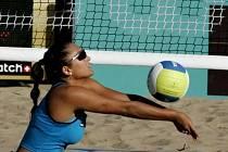 Beachvolejbalistka Martina Bonnerová.
