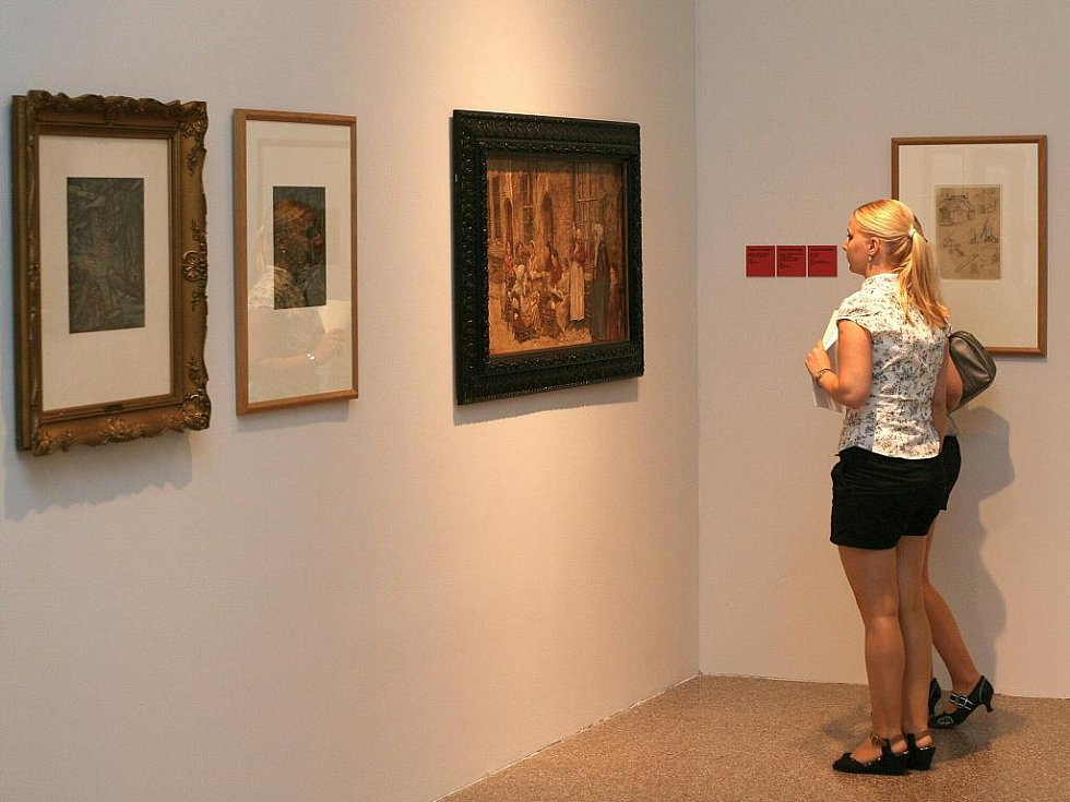 PODLE CITU. Exponáty pro novou výstavu Moravské galerie vybírali laičtí kurátoři často podle osobního vkusu, či vzpomínek.