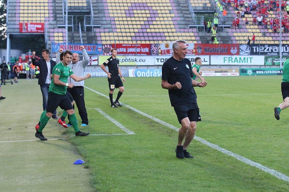Odveta baráže o FORTUNA:LIGU 1. FK Příbram -. Zbrojovka Brno Foto: Antonín Vydra