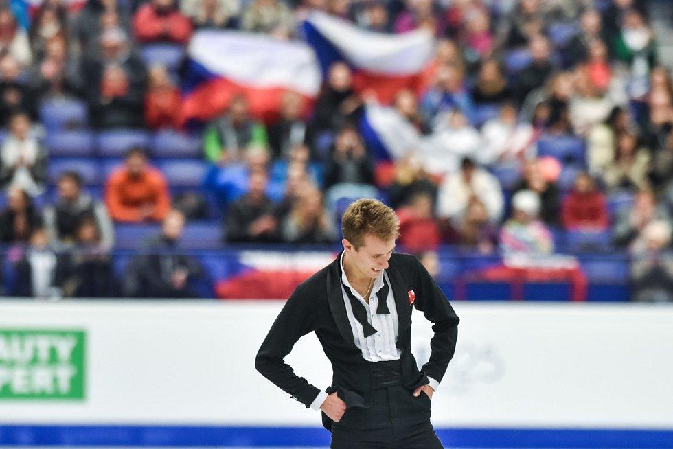 Mistrovství Evropy v Krasobruslení 2017 v Ostravě. Michal Březina.