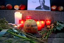 Brňané uctili památku Steva Jobse.