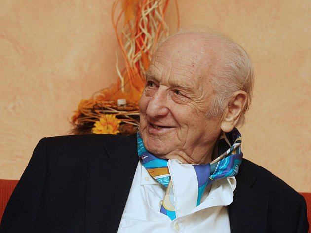 Spisovatel Arnošt Lustig.