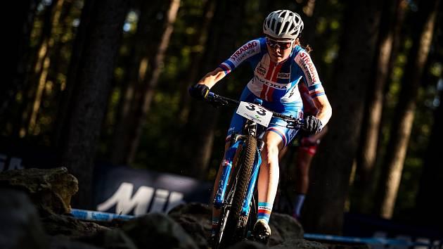 Brněnská rodačka Tereza Obořilová se v říjnu zúčastnila domácího závodu světového poháru v Novém Městě na Moravě.