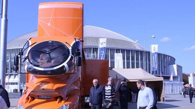 Na brněnském výstavišti se každoročně koná Mezinárodní strojírenský veletrh.
