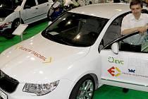 Elektromobil Superbel získal značku VUT.