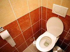Nové toalety na Špilberku.