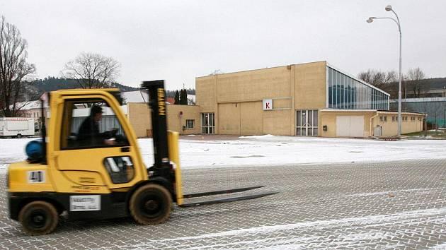 Pavilon K na brněnském výstavišti.