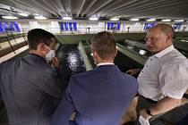 Hejtmani Jihomoravského kraje a Vysočiny podepsali v pondělí memorandum o propojení vodárenských soustav.
